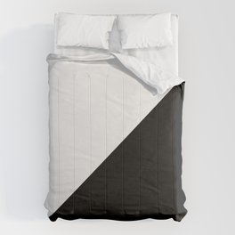 Modern MidCentury Design (B&W) Comforters