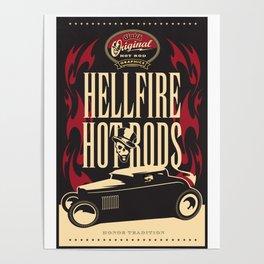 HR Hellfire Hot Rods Poster