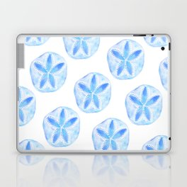 Mermaid Currency - Blue Sand Dollar Laptop & iPad Skin