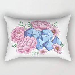 Roll Like A Girl Rectangular Pillow