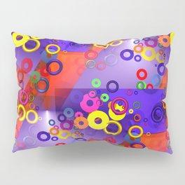 circles and rings -2- Pillow Sham