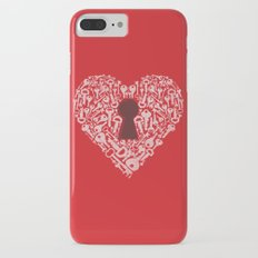 The Key To My Heart iPhone 7 Plus Slim Case