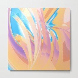 Iridescent Colors Metal Print