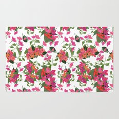 April blooms(Bougainvillea) Rug
