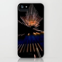 Abstract Dramatic Night Lights iPhone Case