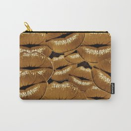 KISS ME TWICE Carry-All Pouch