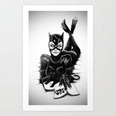 Catwoman #2 Art Print