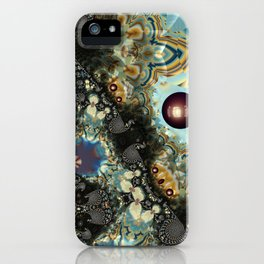 Storm Shadow Fractal iPhone Case