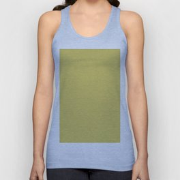 Expressions Dark Golden Yellow Solid Color Pairs To Sherwin Williams Frolic SW 6703 Unisex Tank Top