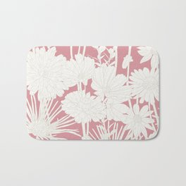 SPRING FLOWERS Bath Mat