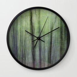 Dizzy forest Wall Clock