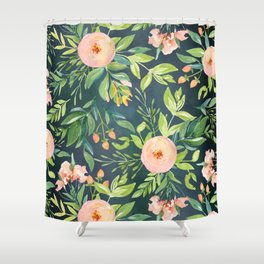 The Night Meadow Shower Curtain