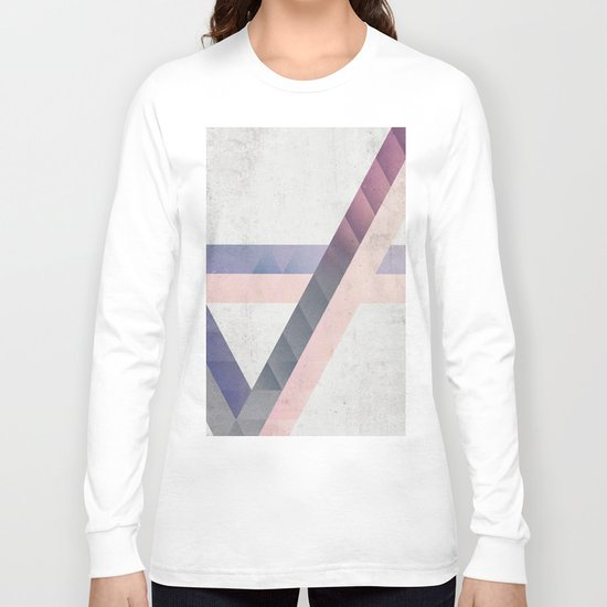Unespected Geometry Long Sleeve T-shirt