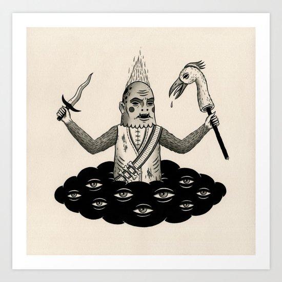 Daggers and Conquests Art Print