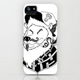 BearPunk iPhone Case