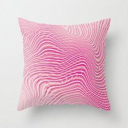 Pink Mindset Throw Pillow