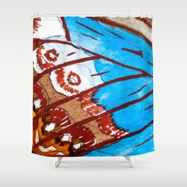 Watercolor Effect 2 Shower Curtain