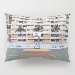 Basketball Court Pillow Sham