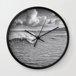 Fistral Swell Wall Clock