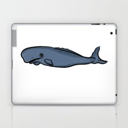 Sweet whale species for every wall lover - whale whales Laptop & iPad Skin