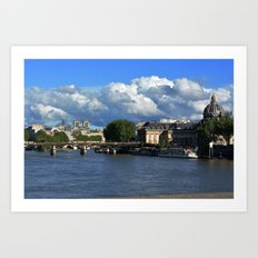 View from the Seine Art Print