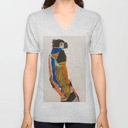 """Egon Schiele """"Moa"""" Unisex V-Neck"""