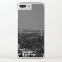 Bielefeld Overview Clear iPhone Case