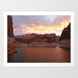 Lake Powell Evenings Art Print