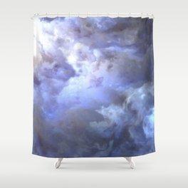 Ascending Light Shower Curtain