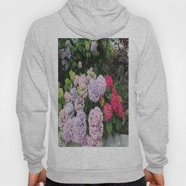 Budva Hydrangeas Hoody
