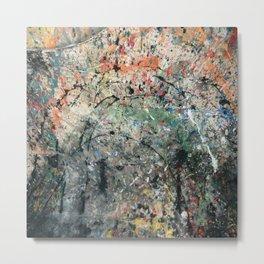 Abstracción II Metal Print