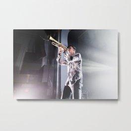 Capital C Metal Print