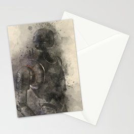 K-2SO Watercolor Stationery Cards