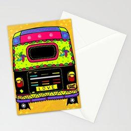 Auto Rickshaw Stationery Cards