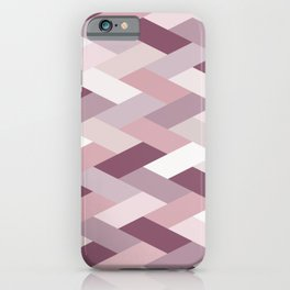 Buy Rose, Purple, Neutral Geometry IB iPhone Case