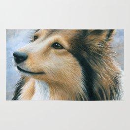 Sheltie Collie Dog Rug