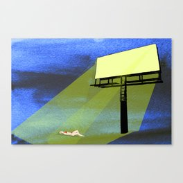Billboard Tan  Canvas Print