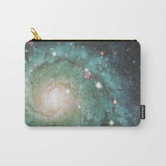 Old School Spiral Galaxy Carry-All Pouch