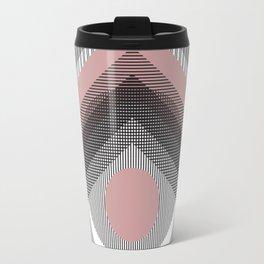 Mod Deco Gray Travel Mug