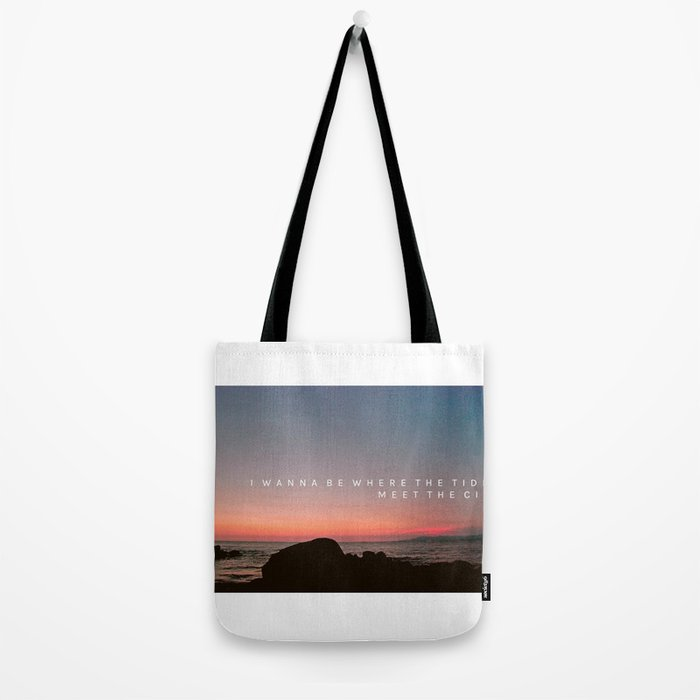 TIDES MEETS CITY Tote Bag