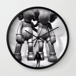livstagram vs. kawstagram Wall Clock