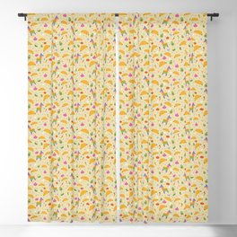 Taco Fiesta Blackout Curtain