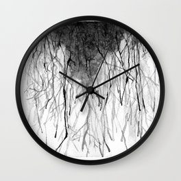 Rivers in the Desert  Wall Clock