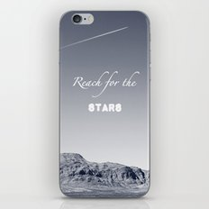 Reach for the Stars (b&w)  iPhone & iPod Skin