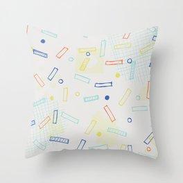 Snap Crackle Throw Pillow