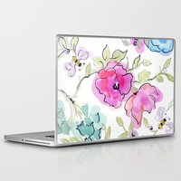 bees Laptop & iPad Skins featuring bees by Ariadne