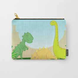 Friendly dinosaurs Carry-All Pouch