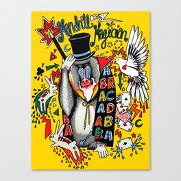 Mandrill the Magician Canvas Print