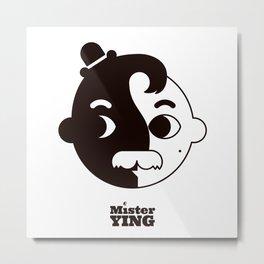 Mr Ying Metal Print