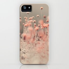 Pink Angel iPhone Case